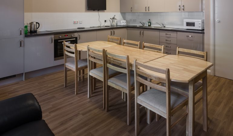 Our properties provide communal kitchens and spaces, ideal for life skills and customer workshops.