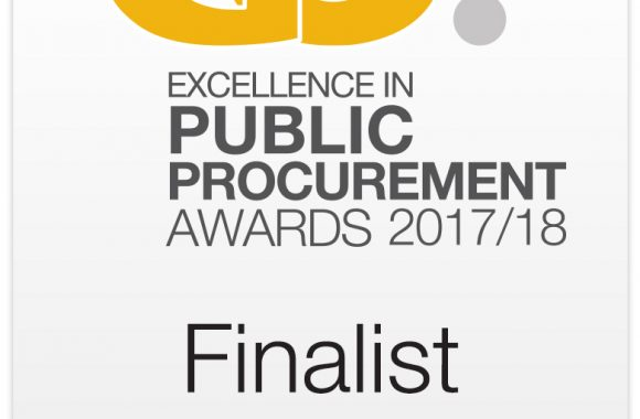 We have been shortlisted in the National Procurement Awards