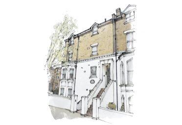 Artist illustration of West London Service